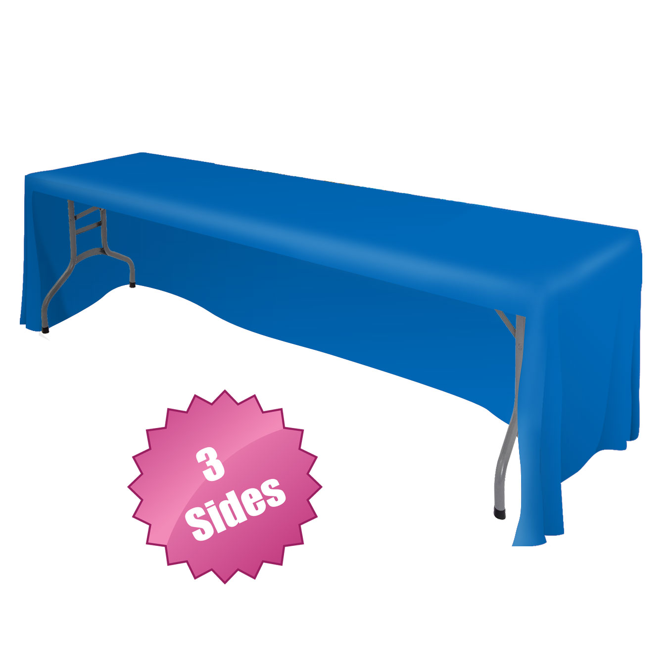 Front logo table throws tablecloth draped table cover for Table table logo