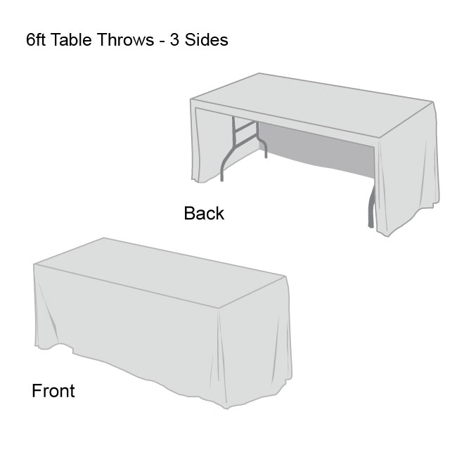 Front Logo Table Throws-3