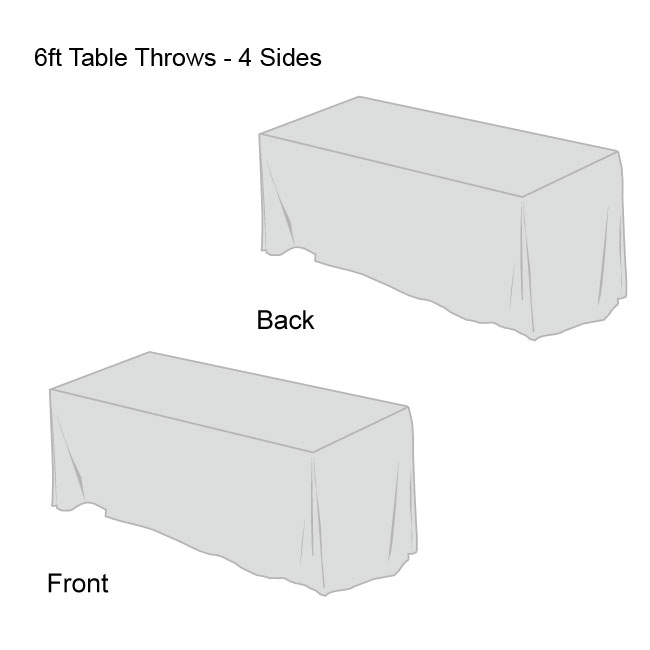 Front Logo Table Throws-4