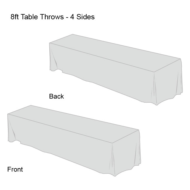 Front Logo Table Throws-8