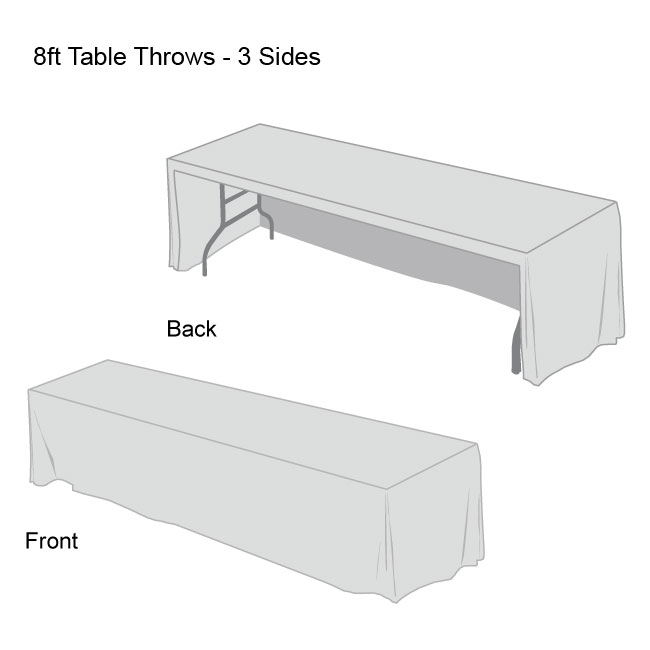 Front Logo Table Throws-9