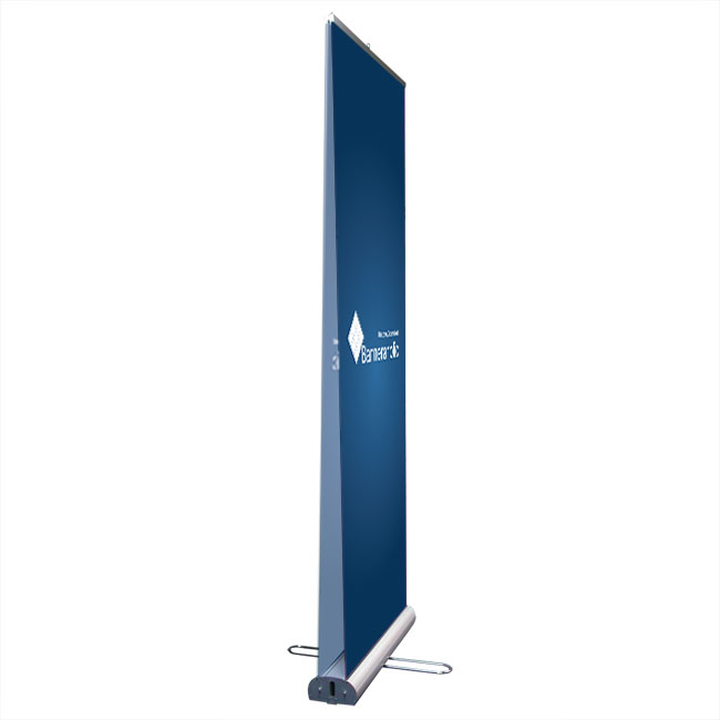Double-Sided Roll Up Banner Stand/>                             	</div>                             	<div id=