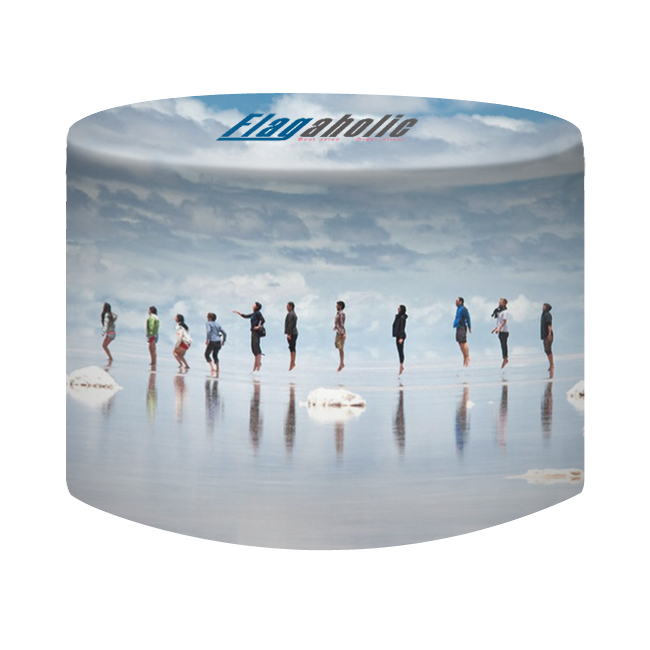 Full Color Fitted Round Table Throw-5