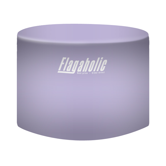 Full Color Fitted Round Table Throw-6