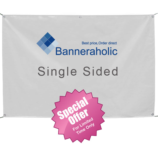 Single Sided Outdoor Vinyl Banner Outdoor Hanging Banners - Vinyl banners australia