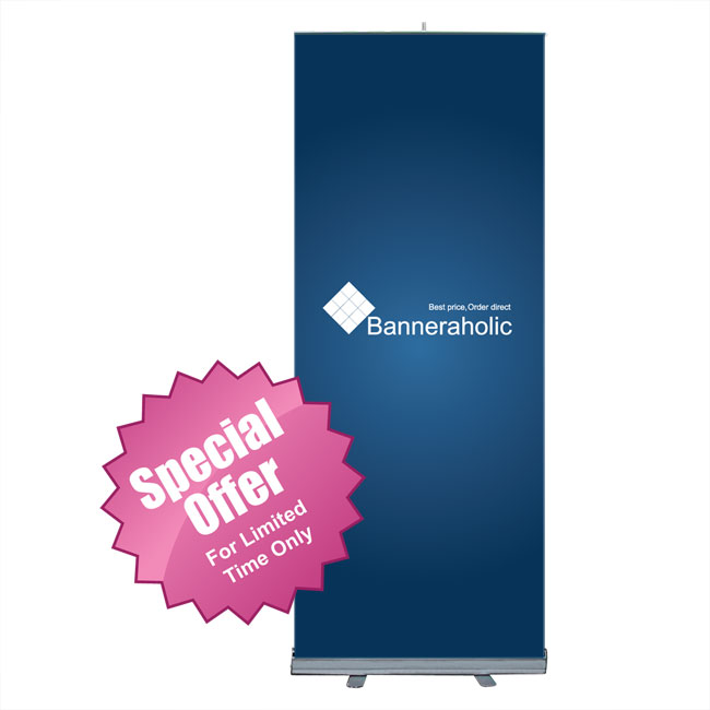 Standard Roll Up Banner Stand/>                             	</div>                             	<div id=